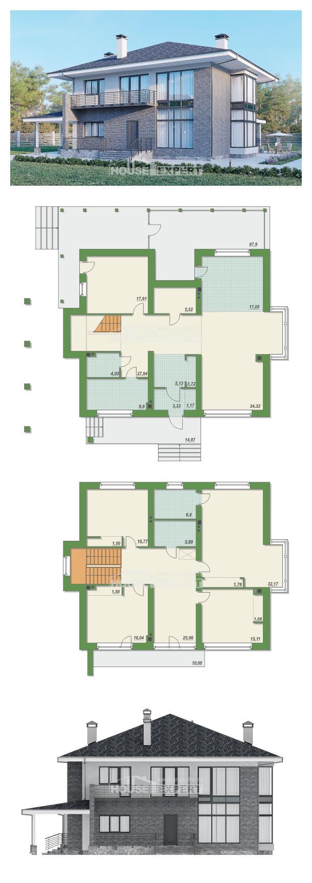 Проект дома 250-004-Л   House Expert